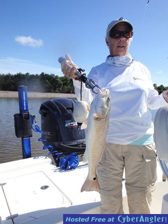 Fishing is hot in florida bay flamingo for Fishing rod in spanish
