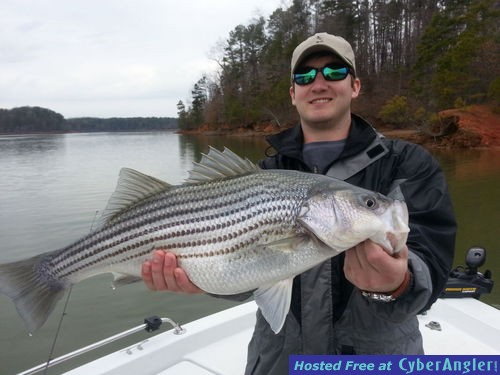 April fishing forecast for Fishing lake hartwell