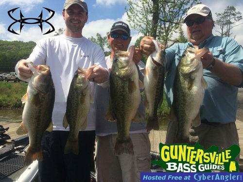 Lake guntersville bass fishing report for Lake guntersville bass fishing report