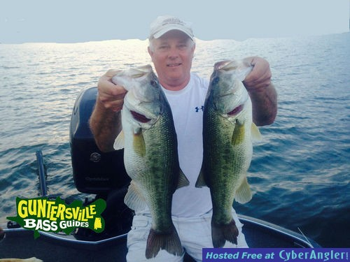 Lake guntersville capt jim leary for Capt al fishing report
