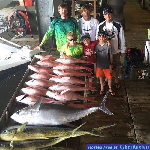 Offshore fishing for Venice la fishing report