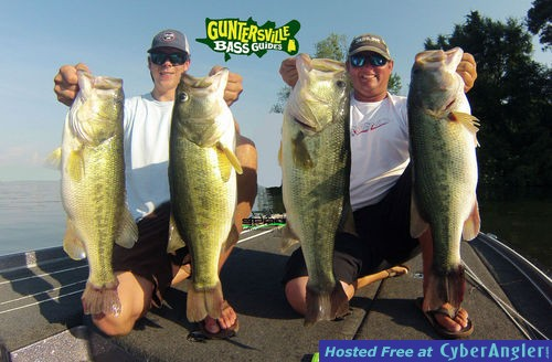 June guntersville for Lake hamilton fishing report