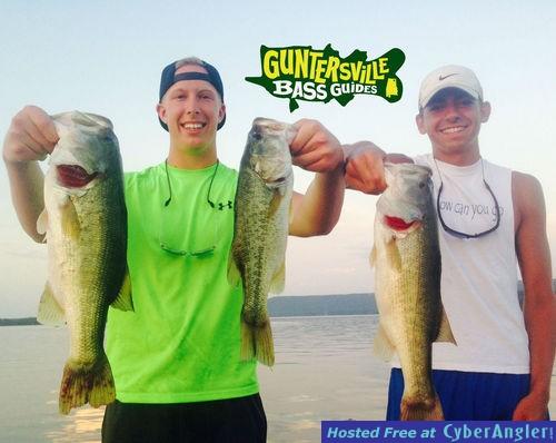 Lake guntersville bass fishing for Fishing forecast alabama