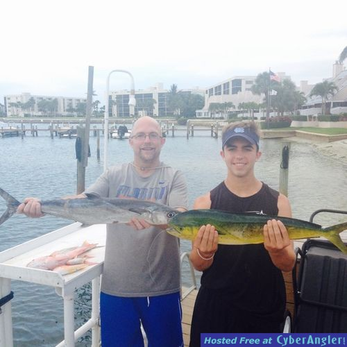 A nice mixed bag offshore fishing for Jupiter florida fishing report