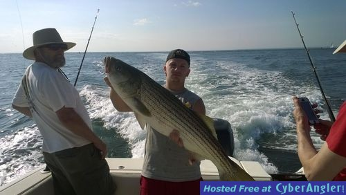Monster bluefish have arrived for Ct saltwater fishing report