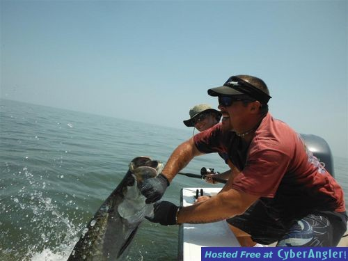 St simons island fishing charters red hot tarpon fishing for St simons island fishing report