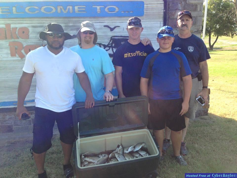 White Bass Fishing North Texas