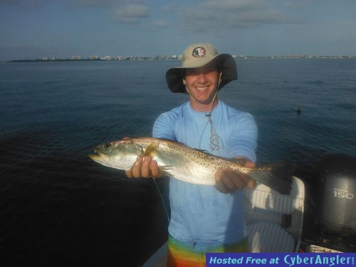 Sarasota fishing report capt jim klopfer 9 5 2015 for Sarasota fishing report