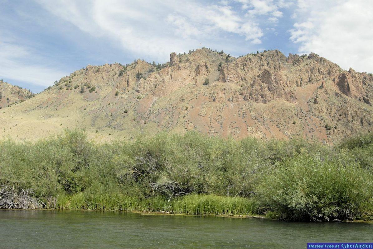 Beaverhead River, Clark Canyon, MT