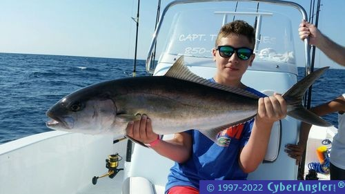Light tackle offshore action in panama city fl for Panama city fl fishing report