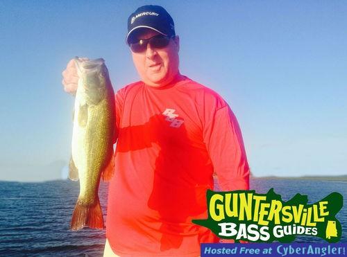 Lake guntersville fishing report for Fishing forecast alabama