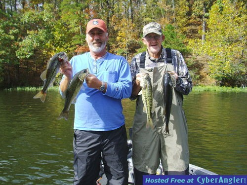 Alabama 39 s coosa river breed of spotted bass for Fishing forecast alabama