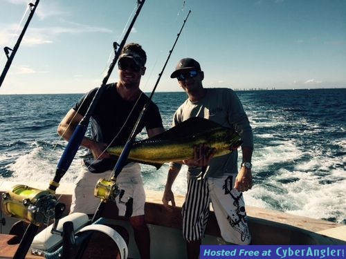 The holiday action for Jupiter florida fishing report