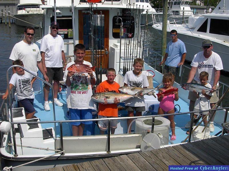 Extreme Family Fun on the C.A.T. Boat