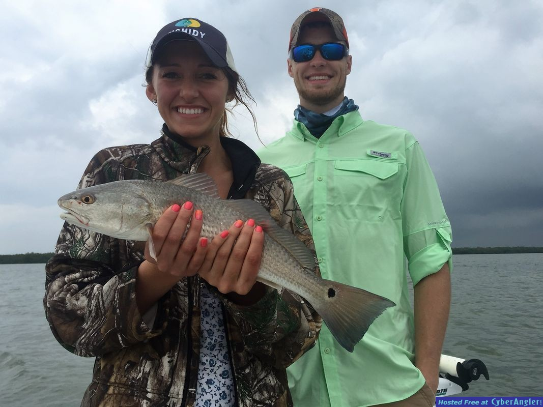Couple with Redfish