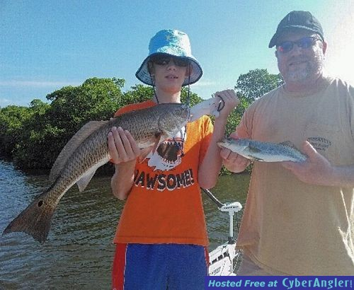 Estero bay redfish snook sharks for Estero bay fishing report