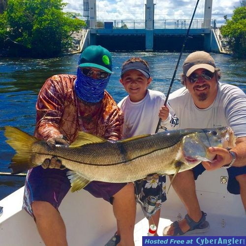 Summer snook and wahoo for Boynton beach fishing charters