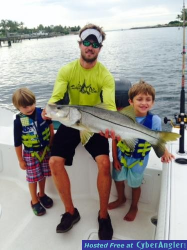 The august action is hot for Jupiter florida fishing report