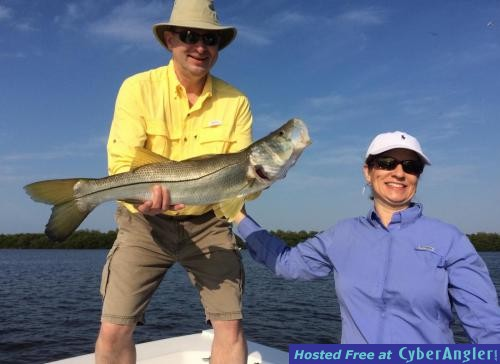 Bite is on in estero bay snook redfish for Estero bay fishing report