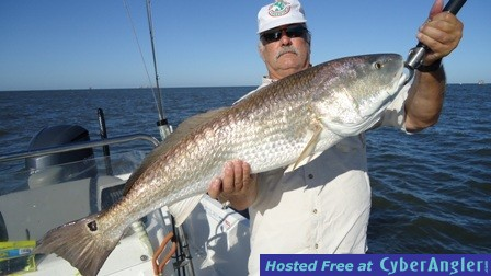 Gary and 34 lbs redfish