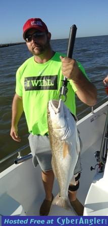 Doug and 24 lbs redfish