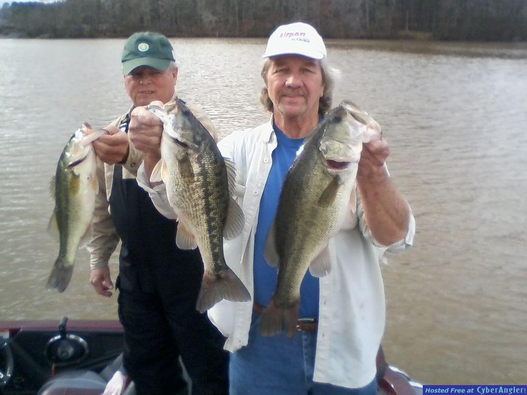 Big 5 Pound Spotted Bass and 7 Pound Largemouth Bass!