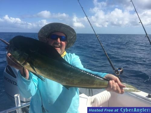 Trolling at the amazon wreck for Port st lucie fishing charters