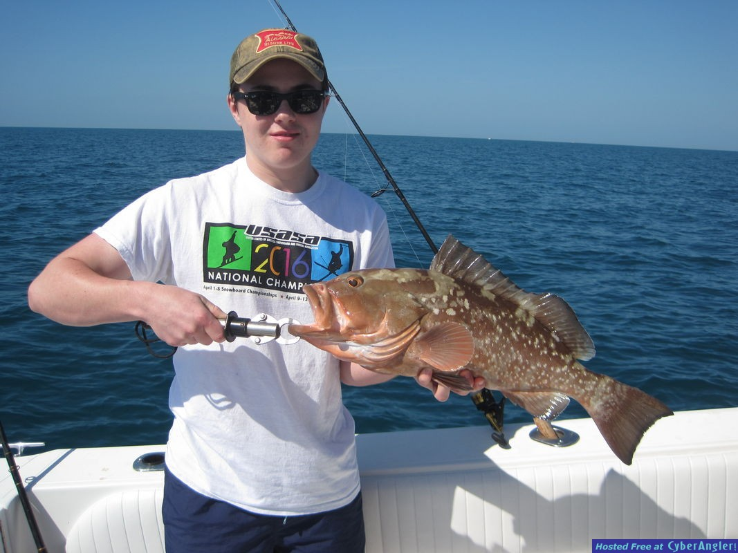 24-inch red grouper-Matchette