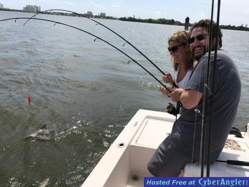 Rains making them bite for Flamingo fishing report
