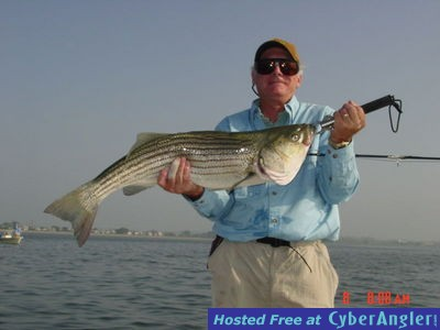 Boston harbor south shore stripers 7 21 2013 for Boston harbor fishing report
