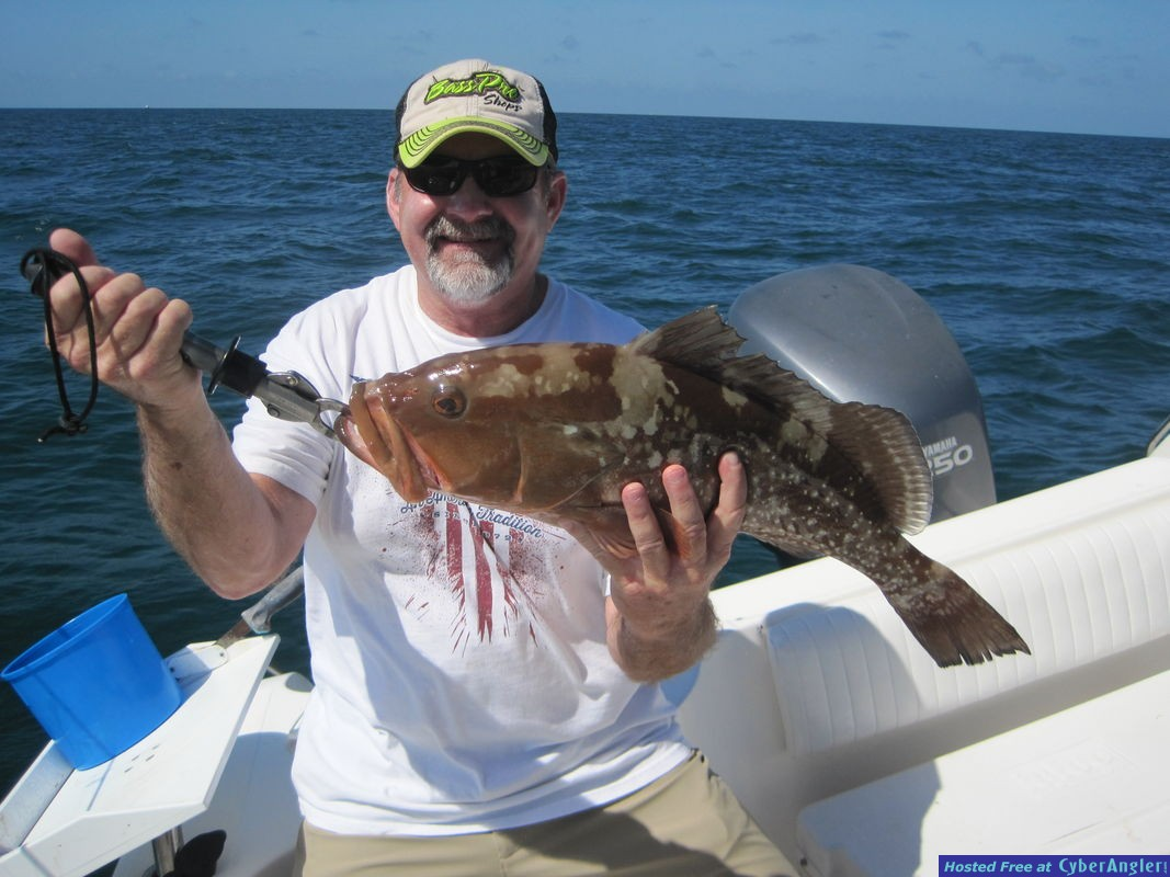 24-inch red grouper-Shepherd