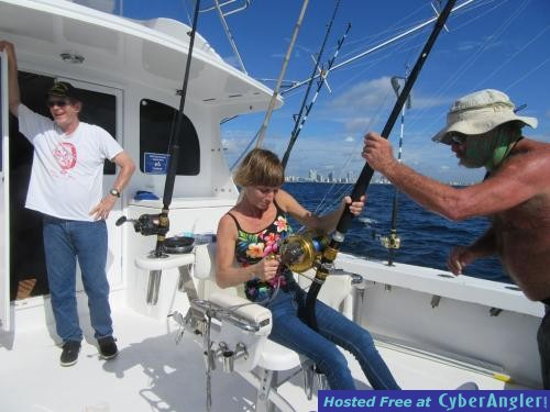 Fishing with women for Fort lauderdale fishing report