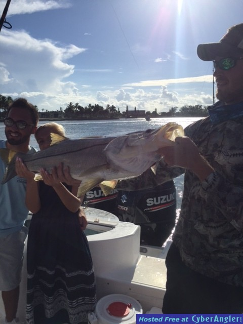 Samantha's First Big Snook