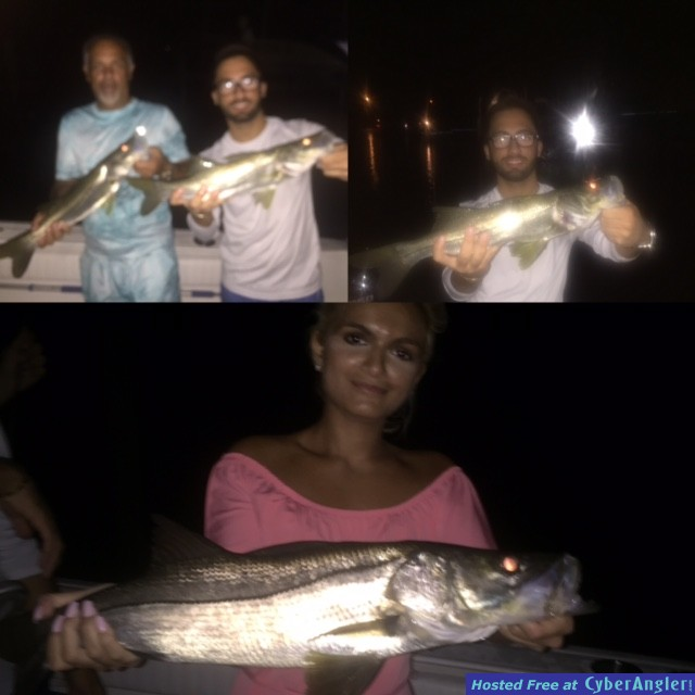 Night Snook Trip