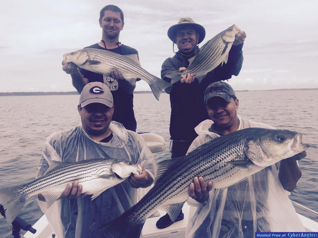 Fishing Lake Hartwell, GA