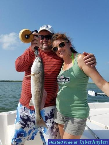 Clearwater beach fishing report october 2017 for Florida out of state saltwater fishing license