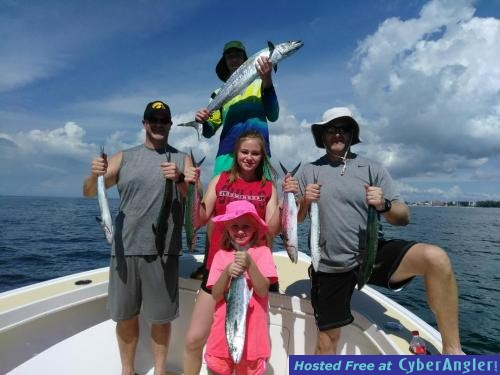 Great near shore action in pinellas county florida for St pete fishing report