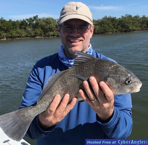 Feb 2018 new smyrna mosquito lagoon backcountry daytona beach for New smyrna beach fishing report