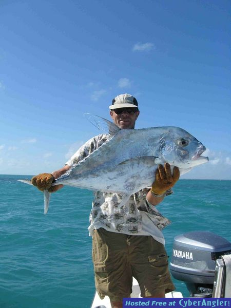 African Pompano on 12 lb test