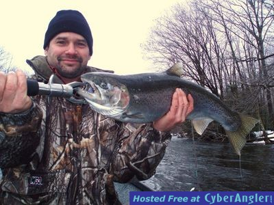 Spring steelhead and browns on the salmon river for Pulaski ny fishing report