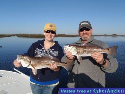 Jacksonville deepwater redfish and trout bite for Fishing report jacksonville fl