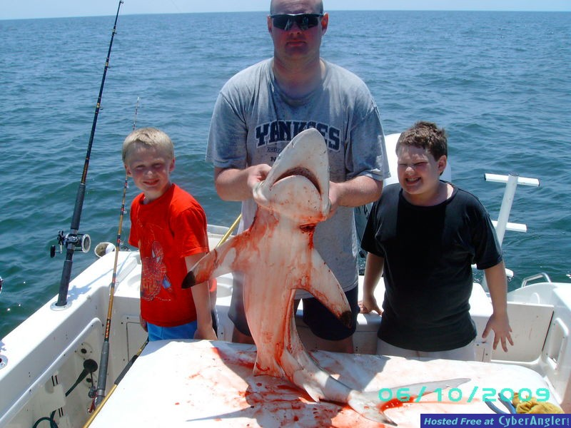 Blacktip aboard WhipaSnapa