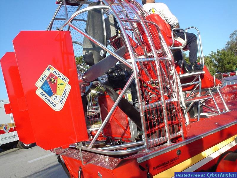 NEW BSO FIRE-RESCUE AIRBOAT