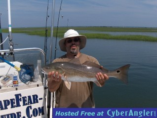 Cape Fear Red Drum Fishing