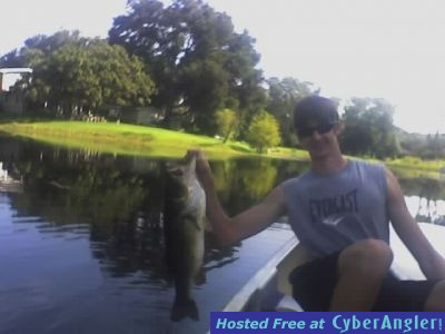 ANOTHER BIG BASS FOR ANDREW
