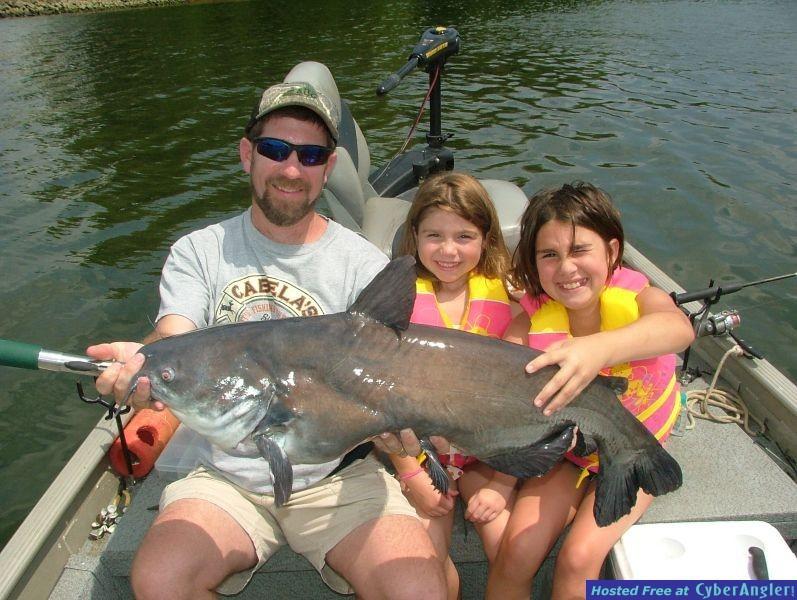 Little Girl's Big Fish