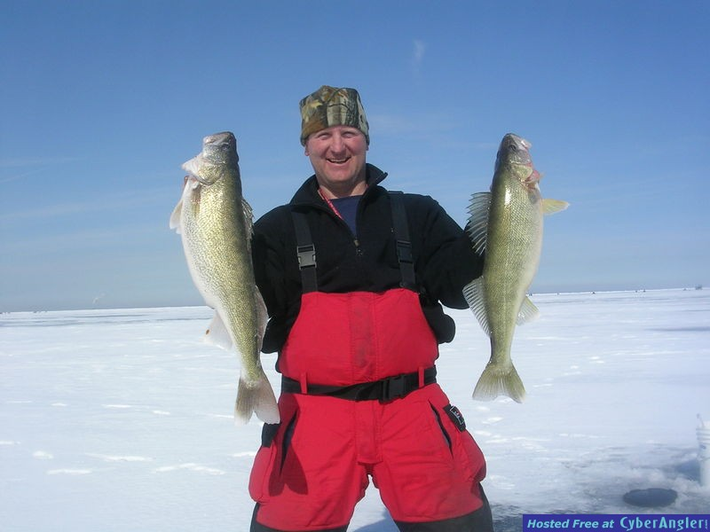 Big Water Walleye on Lake Erie with Erie Quest