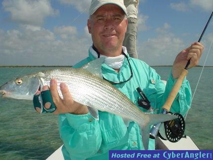 Kirk Grassett's Andros South fly bonefish