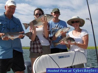 Bald Head Island Inshore Fishing