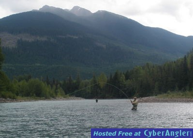 Spey Fly Fishing in Terrace BC  http://www.noelgyger.ca